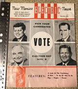1952 & 1960 election items + one in Okinawa, Japan
