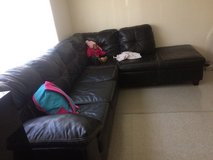 King size bed w dresser and a sectional couch . in Ottawa, Illinois