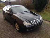 Mercedes Benz C200 Coupe AUTOMATIC, Navi, Pano Roof, A/C, New Service, New TÜV!! in Ramstein, Germany