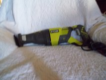 Ryobi recipicating saw   Xtra blades like new in 29 Palms, California