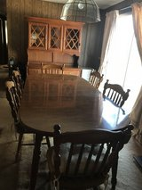 Dining room table, hutch and chairs in Fort Bragg, North Carolina