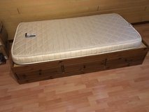 Single platform bed with drawers (2 available) - now disassembled in Stuttgart, GE