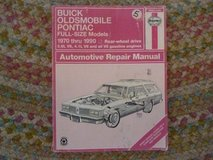 1970-1990 BUICK OLDS PONTIAC REPAIR MANUAL; HAYES #19025 in Fort Leonard Wood, Missouri