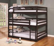 NEW TWIN TRIPLE BUNK BED in San Bernardino, California