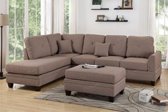 LARGE SECTIONAL FREE OTTOMAN in Riverside, California