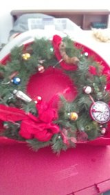 REDUCED-LARGE Custom made Wreath -Perfect for Holiday Gift/Decor for Party Goers or Bachelor Pad in Chicago, Illinois