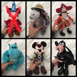 Disney stuffed characters in Beaufort, South Carolina