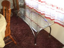 glass coffee table in Camp Lejeune, North Carolina