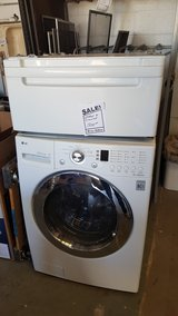 ***** REDUCED TO SELL*******Front load washer with pedestal in Alamogordo, New Mexico