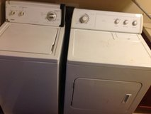 Washer and dryer set in Fort Lewis, Washington