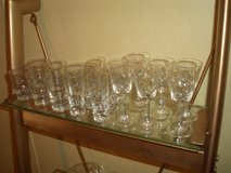 crystal long stem glasses in Cherry Point, North Carolina