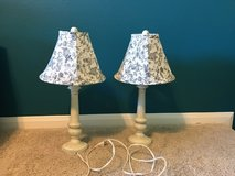 Two Table Lamps in Kingwood, Texas