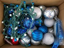 Box of Bulbs, lights & Christmas lace in Alamogordo, New Mexico