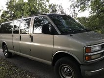 2001 Chevy express van 15 passenger in Naperville, Illinois