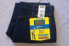*New* WRANGLER COWBOY CUT Regular Fit JEANS 38x30 in 29 Palms, California