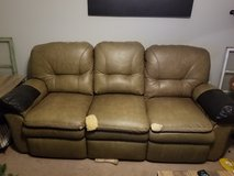2 leather couches in Fort Campbell, Kentucky