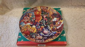 1995 Winnie the Pooh Christmas Plate in 29 Palms, California