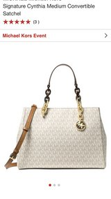 Authentic Michael Kors Handbag in Plainfield, Illinois