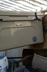Yeti 65qt Tan Cooler in Fort Campbell, Kentucky