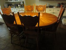 Table and Six Chairs in Coldspring, Texas