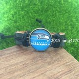 SEATTLE SEAHAWKS (Traditional Logo) Leather Bracelet *** NEW *** in Fort Lewis, Washington