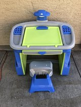 Child's desk in Temecula, California