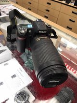 Nikon D80 with VR 70-300 lens f4.5-5.6G ED in Los Angeles, California