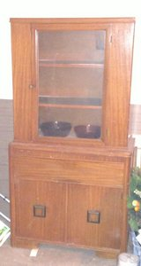 Antique China Hutch in Tinker AFB, Oklahoma