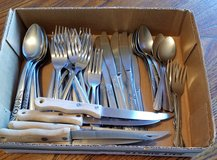 Miscellaneous Silverware in Fort Riley, Kansas