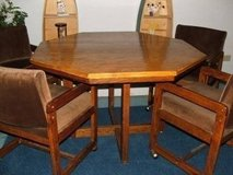 Solid Oak Dining/Game Table in Plainfield, Illinois