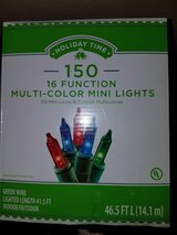 multi colored mini lights in Fort Polk, Louisiana