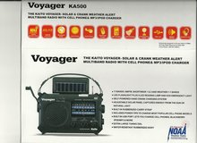 NEW VOYAGER KA500 RADIO - MULTIBAND, SOLAR AND CRANK - WEATHER ALERT in Bellevue, Nebraska