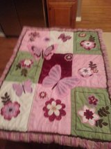 NOJO BABY GIRL BEDDING WITH DIAPER BAG AND VALANCE in Sandwich, Illinois