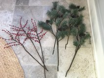 POTTERY BARN Faux Holiday Florals - 7 Stems in Batavia, Illinois