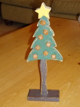 "12"" wood jingle bell tree in Aurora, Illinois"