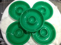 Christmas 5 Green Chip n Dip Cookies Party Platter Plate in Fort Campbell, Kentucky