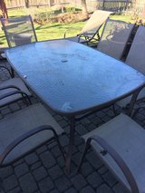 8 Piece Patio Set in Naperville, Illinois