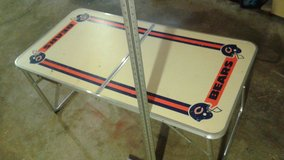 PRICE DROP !!! Chicago Bears Vintage Folding Table in Bolingbrook, Illinois