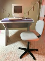 American Girl doll desk and working computer in Shorewood, Illinois