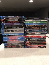 BLU-RAY MOVIE LOT in Palatine, Illinois