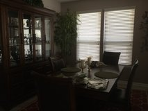 dining room table 6 chairs andbuffet in Kingwood, Texas
