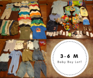 HUGE LOT 3-6 Month Baby Boy Clothes in Beaufort, South Carolina