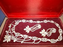 Beautiful Rhinestone necklace and earrings in Fort Rucker, Alabama