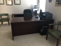 Office Furniture In Excellent Condition Includes Book Case in Fort Lee, Virginia