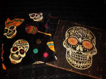 Day of the Dead - Canvas frame & throw cover in The Woodlands, Texas