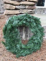 8- 30 inch plain Christmas wreaths in Macon, Georgia