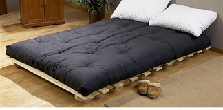 Queens futon mattress (black color) in West Orange, New Jersey