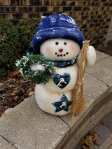 "18"" Holiday Snowman in Batavia, Illinois"