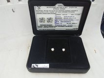 Diamond stud earrings in Alamogordo, New Mexico