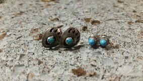 native american turquoise earrings in bookoo, US